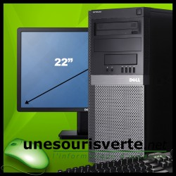 DELL Optiplex 3020 - 240Go SSD (tour)