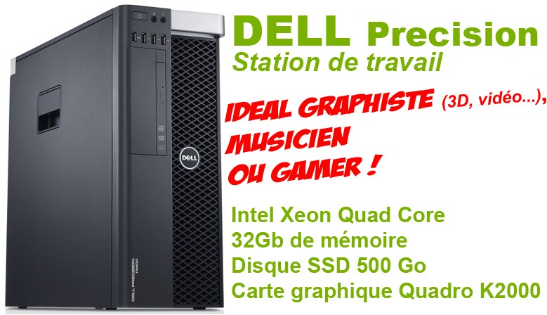Station de travail DELL Precision T3600