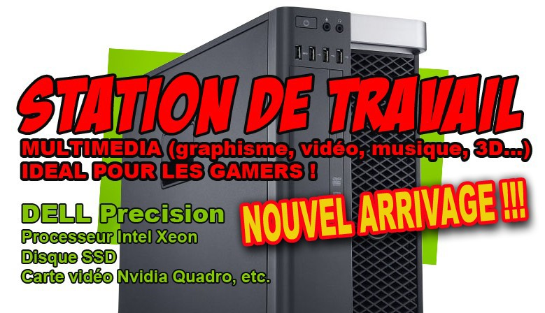 Station de travail DELL Precision