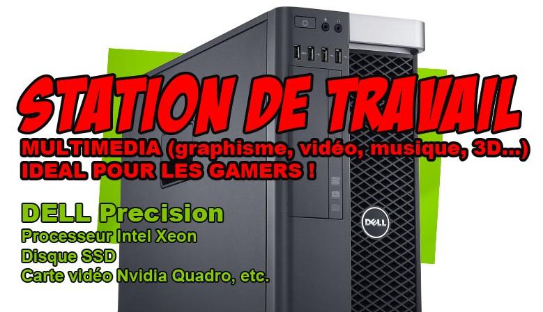 Station de travail DELL Precision T3600