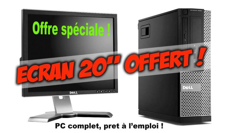 """Ecran 20"""" DELL offert !"""