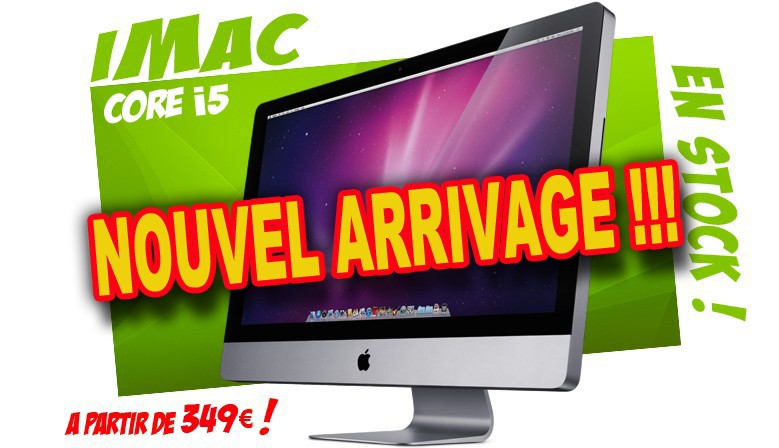ARRIVAGE APPLE !